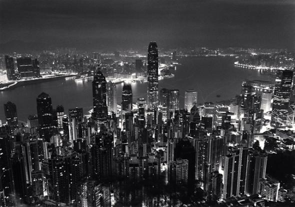 Skyline, Study 1, Hong Kong. 2006