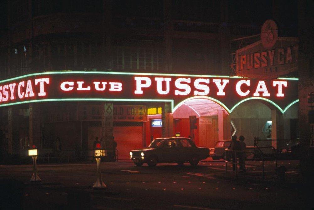 Pussy Cat Club, Wanchai, 1974