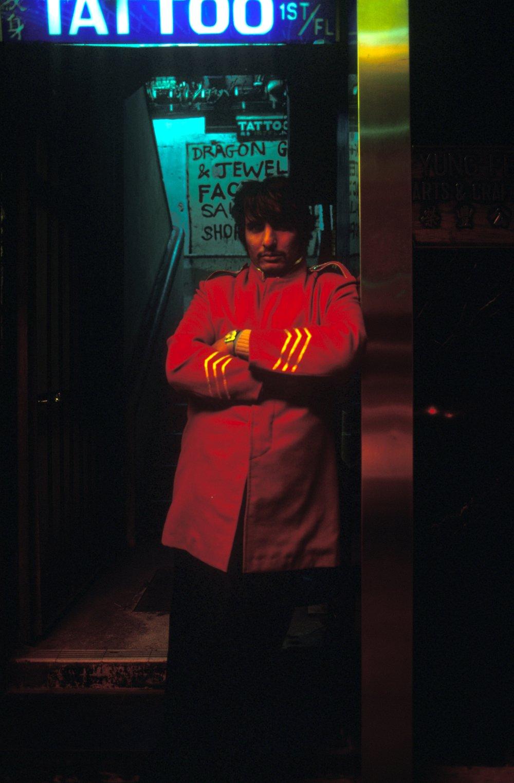 Greg Girard, Doorman, Tsimashatsui, 1977.jpg