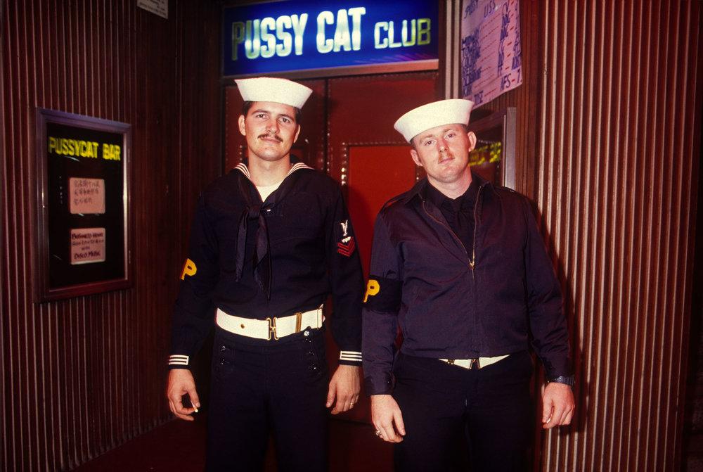 Greg Girard, Shore Patrol, Wan Chai, 1985.jpg