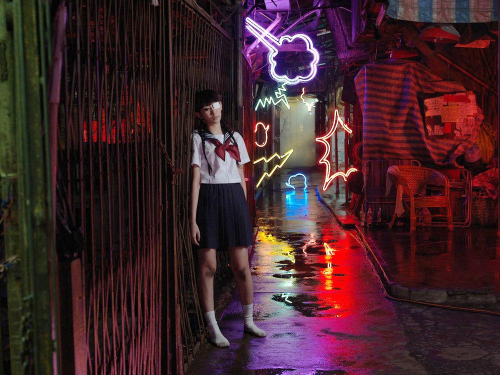 Wing Shya, Scarred [Hong Kong, 2013]