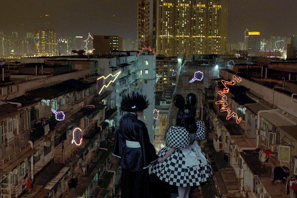 Wing Shya, Dive [Hong Kong, 2013]