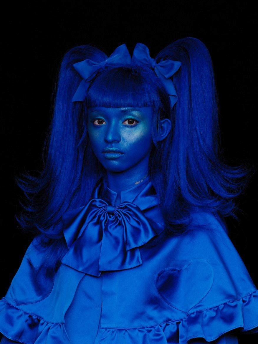 Wing Shya, Blue Portrait 01 [Hong Kong, 2013]