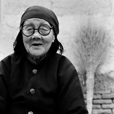 Jo Farrell, Yang Jinge portrait, 87 years old (China, 2010)
