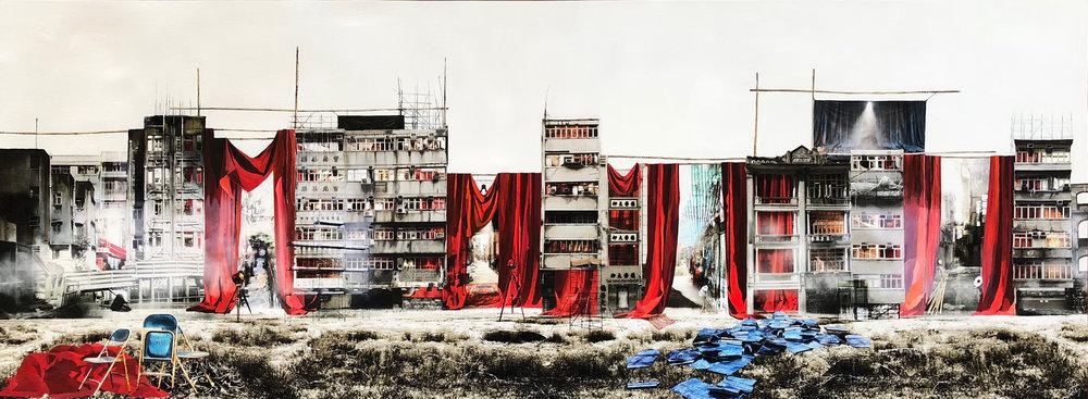 """Daphné Mandel """"Back Alleys Backstage"""" [Hong Kong, 2018]"""