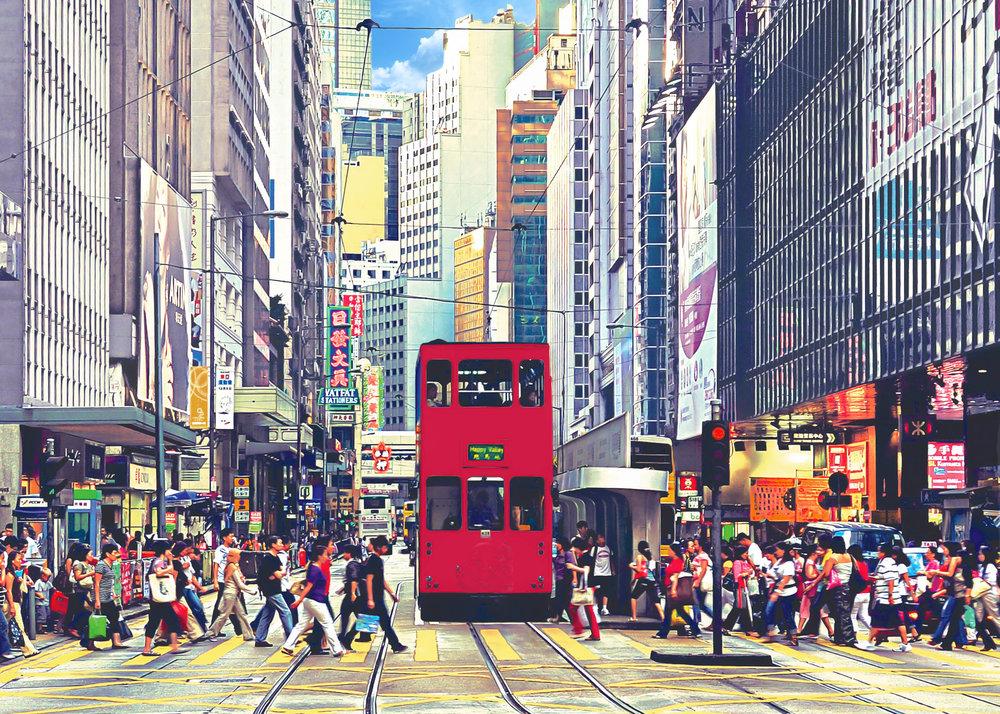 """葉家偉 Alexis Ip """"Central Tramway"""" [Hong Kong, 2018]"""