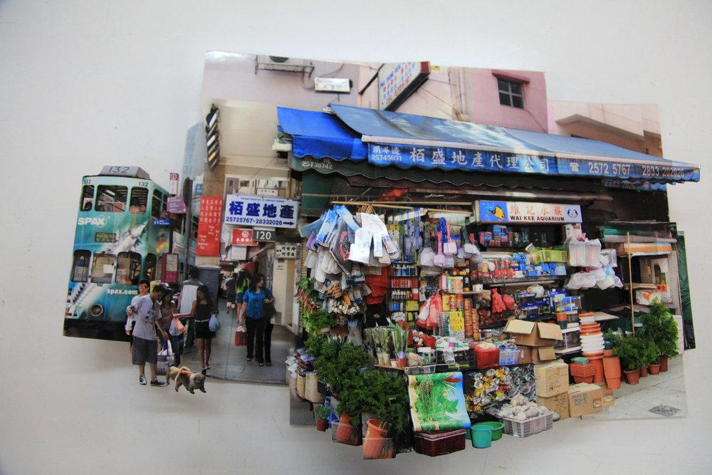 """葉家偉 Alexis Ip """"灣仔太原街維記"""", Wai Kee Aquarium,[Hong Kong, 2016]"""