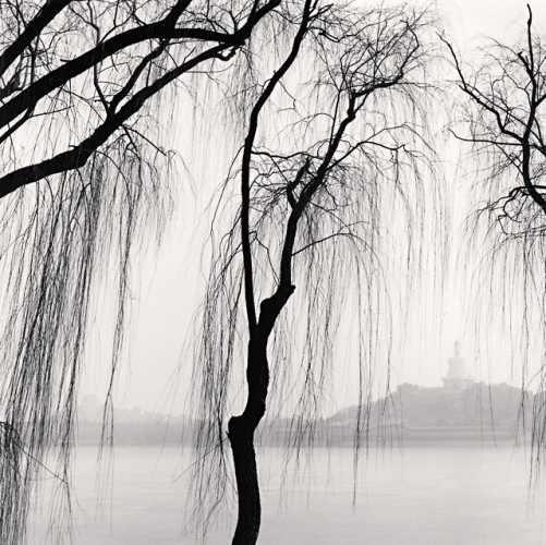 Michael Kenna, White Stupa, Beihai Park, Beijing, China, 2007.jpg