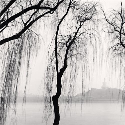 Michael Kenna, White Stupa, Beihai Park, Beijing, China, 2007.jpg