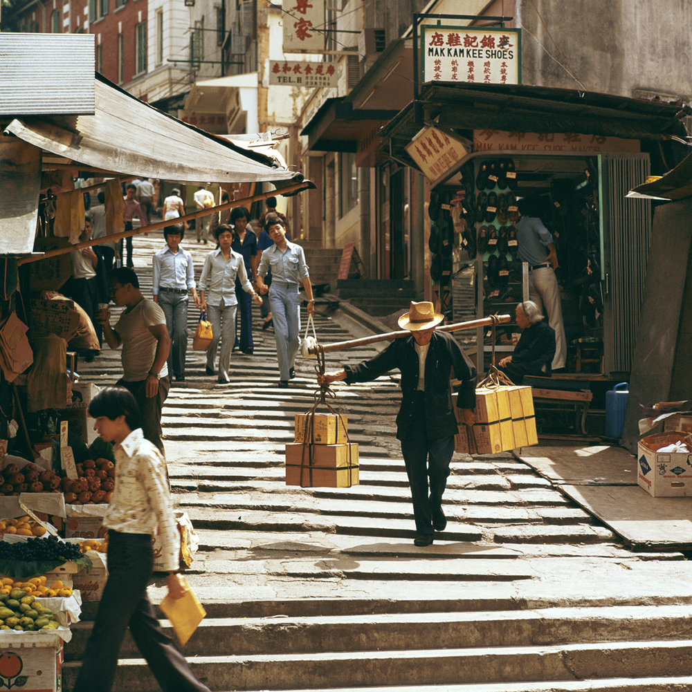 Pottinger Street, 1973