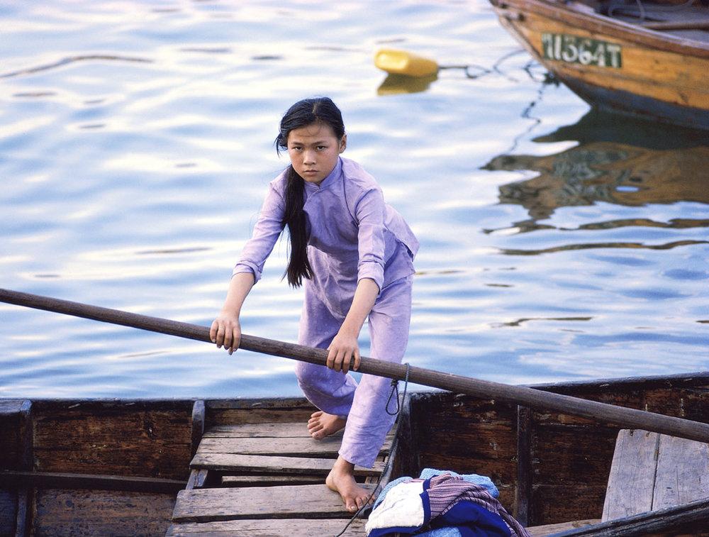 Sampan Girl - Tai Po Kau, 1978