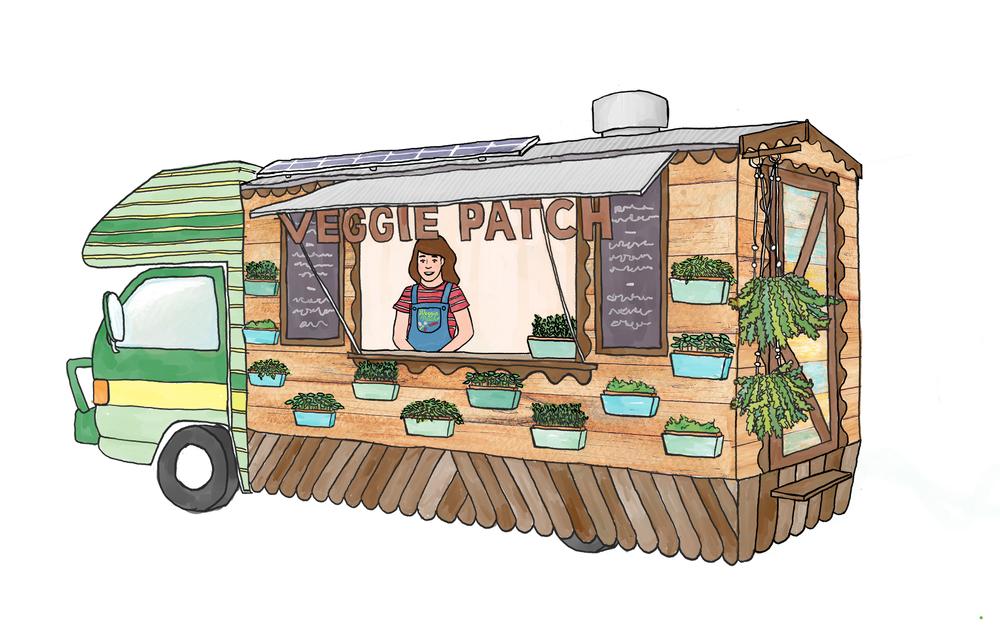 fd37ab8e0cff25 Veggie Patch Van — Chloe McDougall