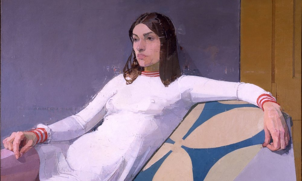 Euan Uglow,  Georgia,  1973, oil on canvas