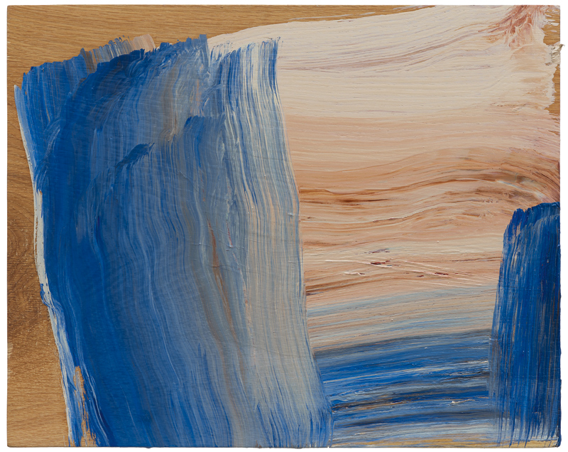 Howard Hodgkin, Low Cloud, 2015, oil on wood