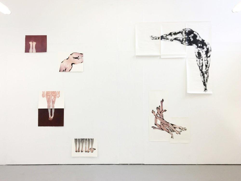 Kecheng Zhou,  installation view