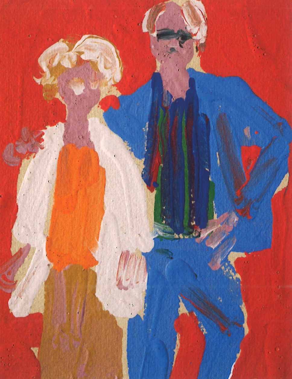 Albert Irvin,  Bert and Betty,  c.2005