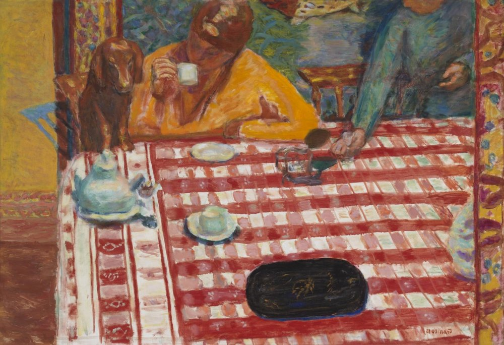 Pierre Bonnard,  Coffee,  1915, oil on canvas