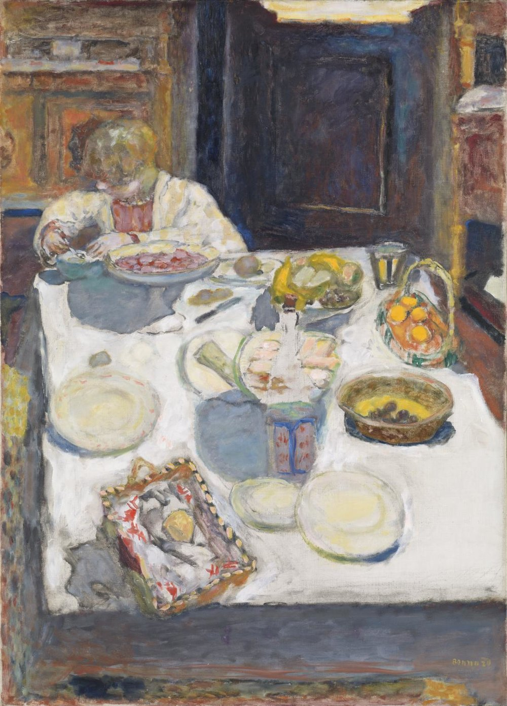 Pierre Bonnard,  The Table,  1925, oil on canvas