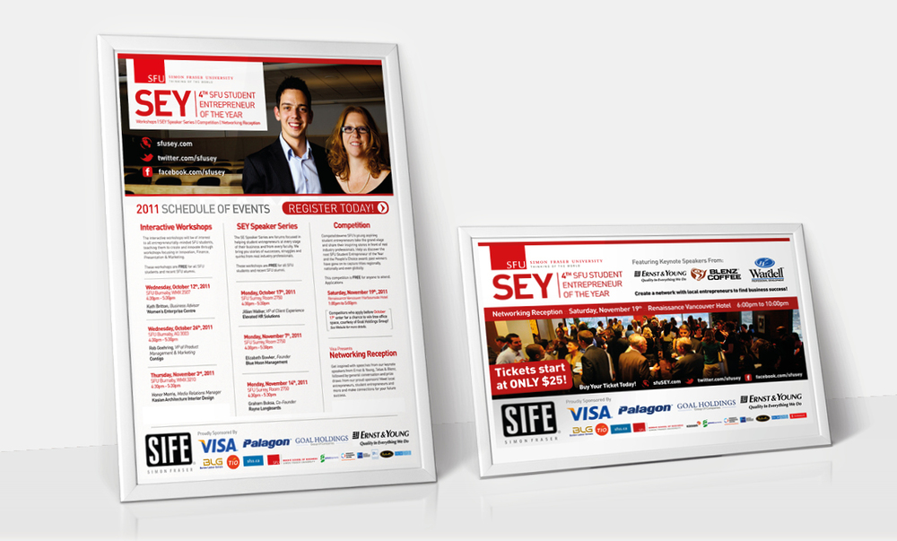 SFU Entrepreneur of the Year - Posters