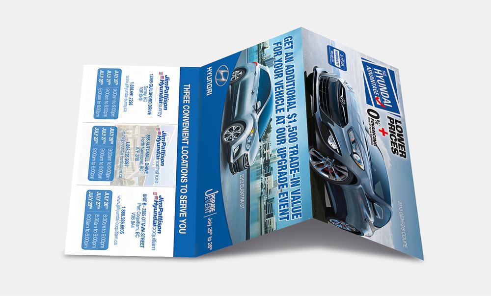 Jim Pattison Auto Group - Mailout