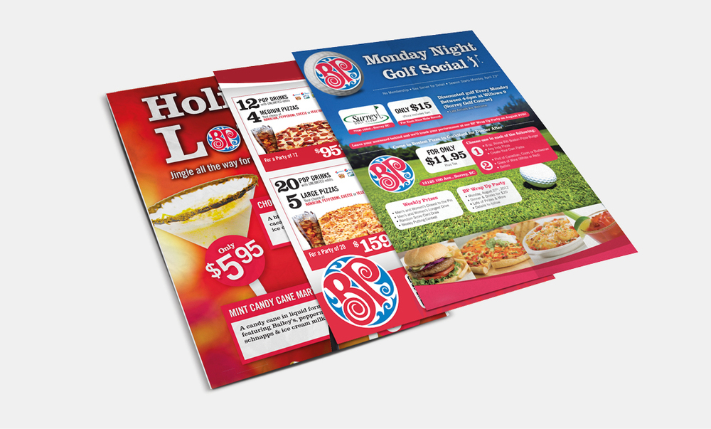 Boston Pizza - Posters