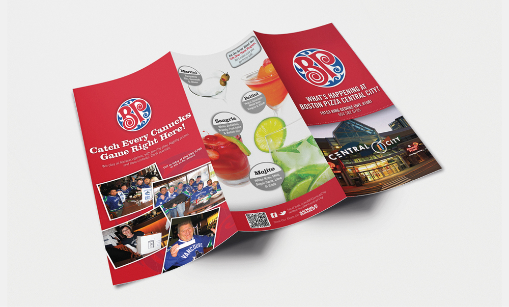 Boston Pizza - Tri-Fold