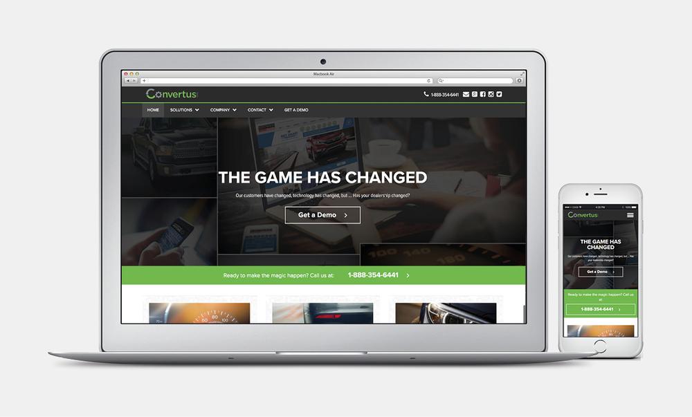 Convertus - Website