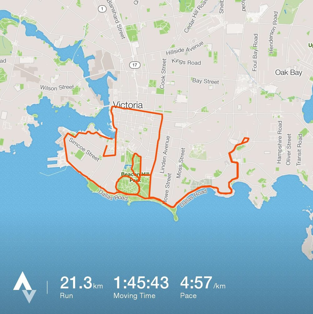 GoodLife Victoria Half Marathon