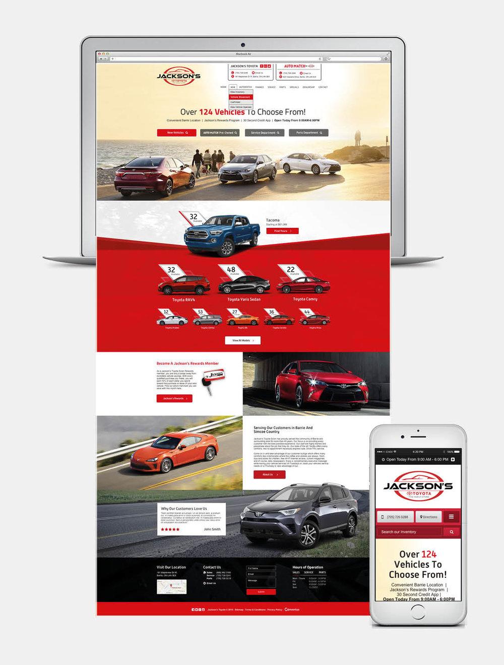 Convertus - Jackson's Toyota