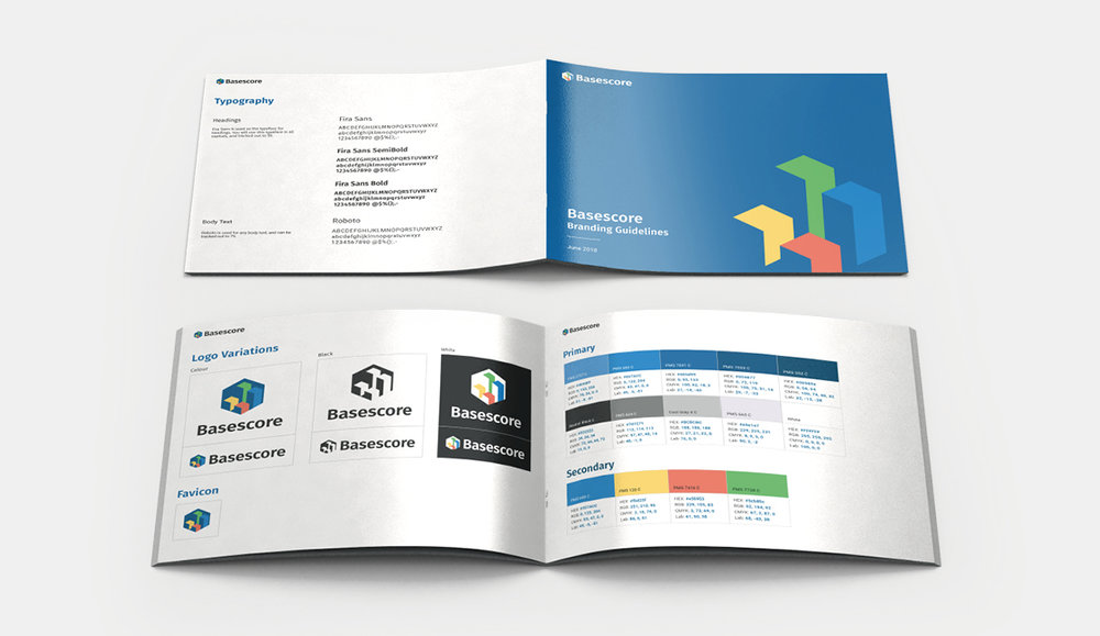 This is the branding guide that was developed for Basescore for consistency