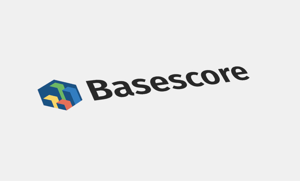 The final Basescore logo that was used for production