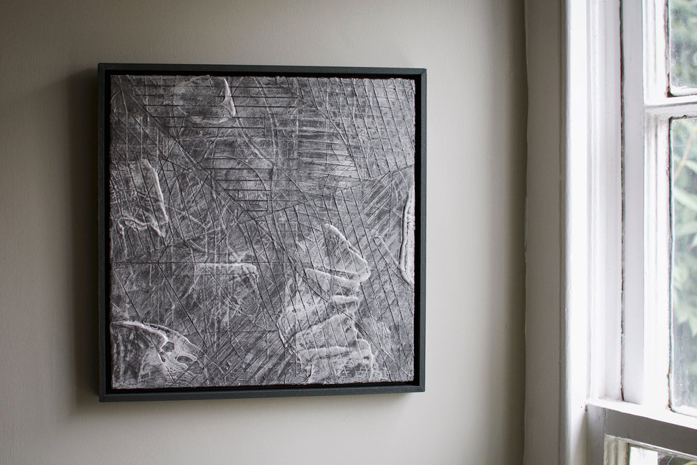 'The Haymaker in Castle Inn' 32 x 32cm, 2018. Acrylic & Graphite on Board. £230