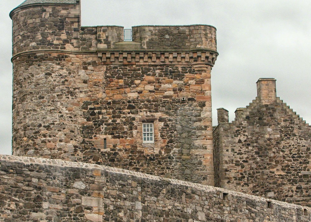 More fortress than castle, Blackness in Scotland is an imposing and well-preserved structure.