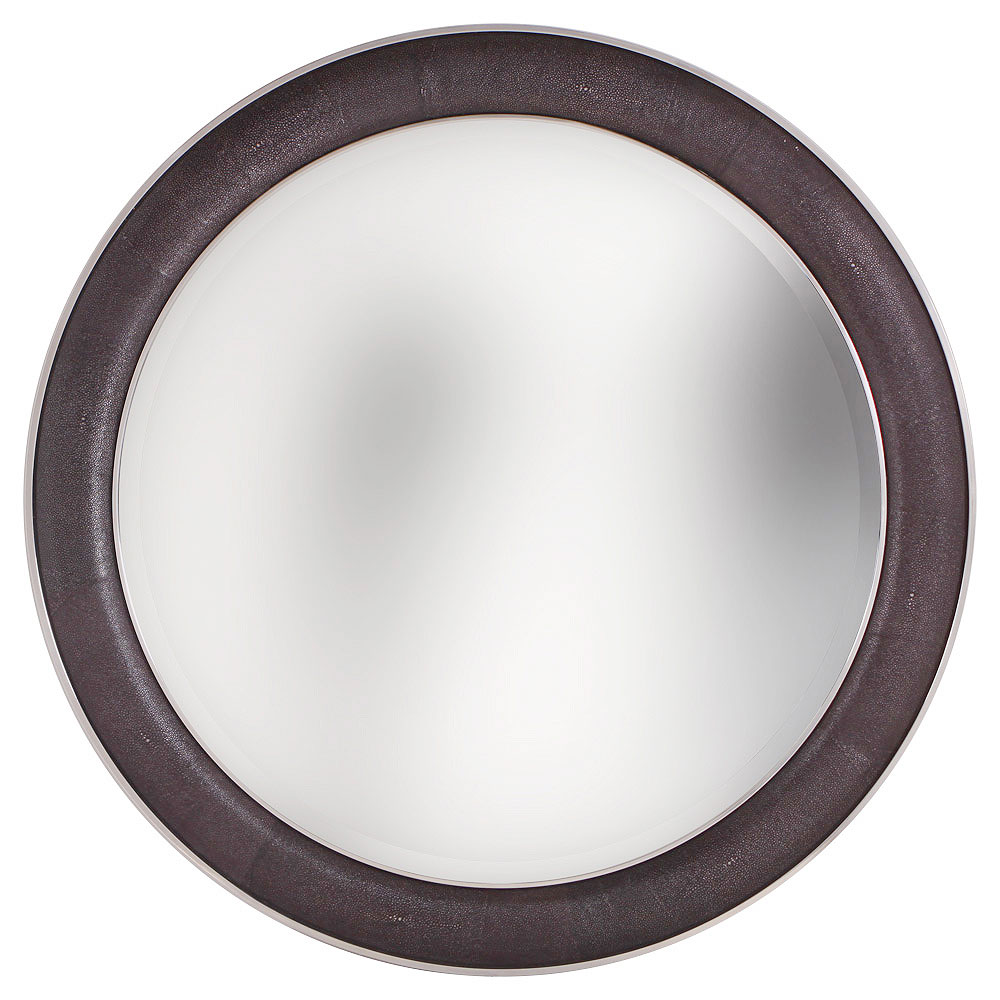 ROUND SAXON CHROME   Standard Diameter  W 90cm In Stock with Metallic Lizard Pearl Finish in the style of the image above
