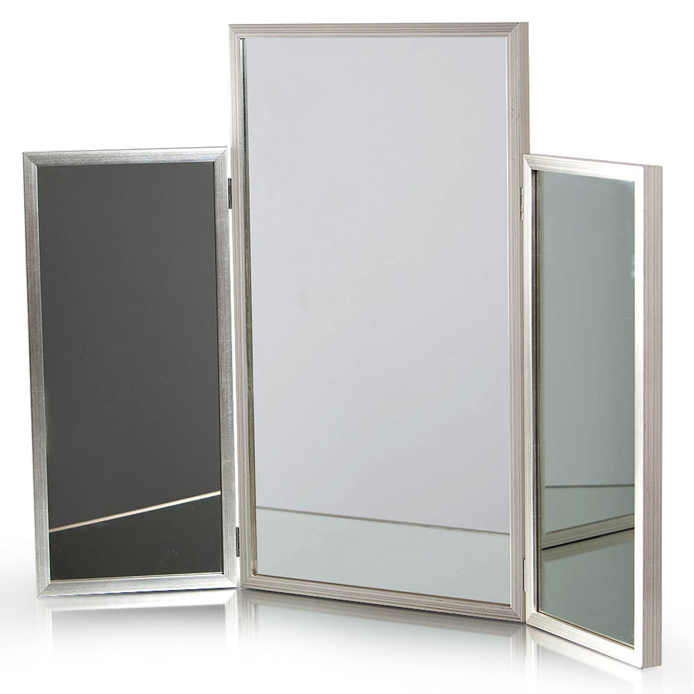 TRIPTYCH FOR DRESSING TABLE   Dimension:  W 90cm x H 70cm