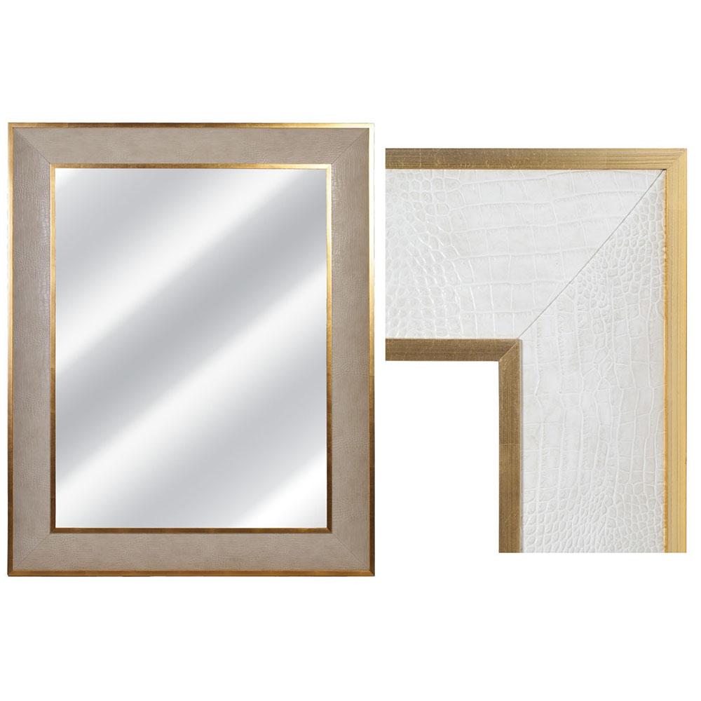 SAXON IN CREAM CROC WITH GOLD TRIM Dimension: W 120cm x H 150cm