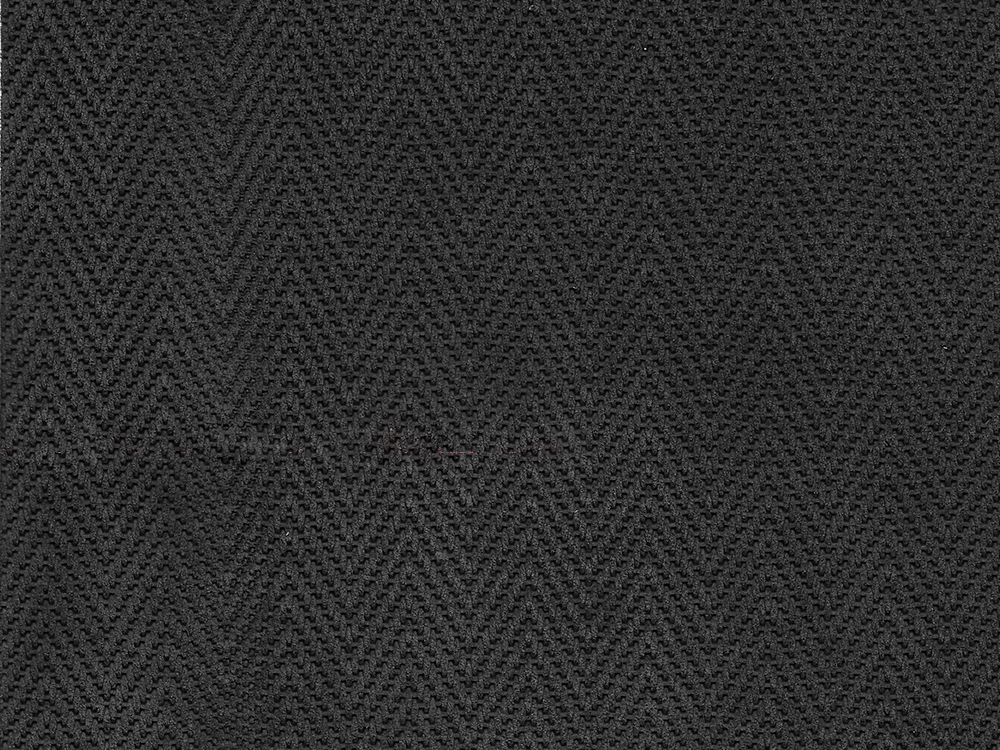 Standard Leather -  SUEDED HERRINGBONE CHARCOAL