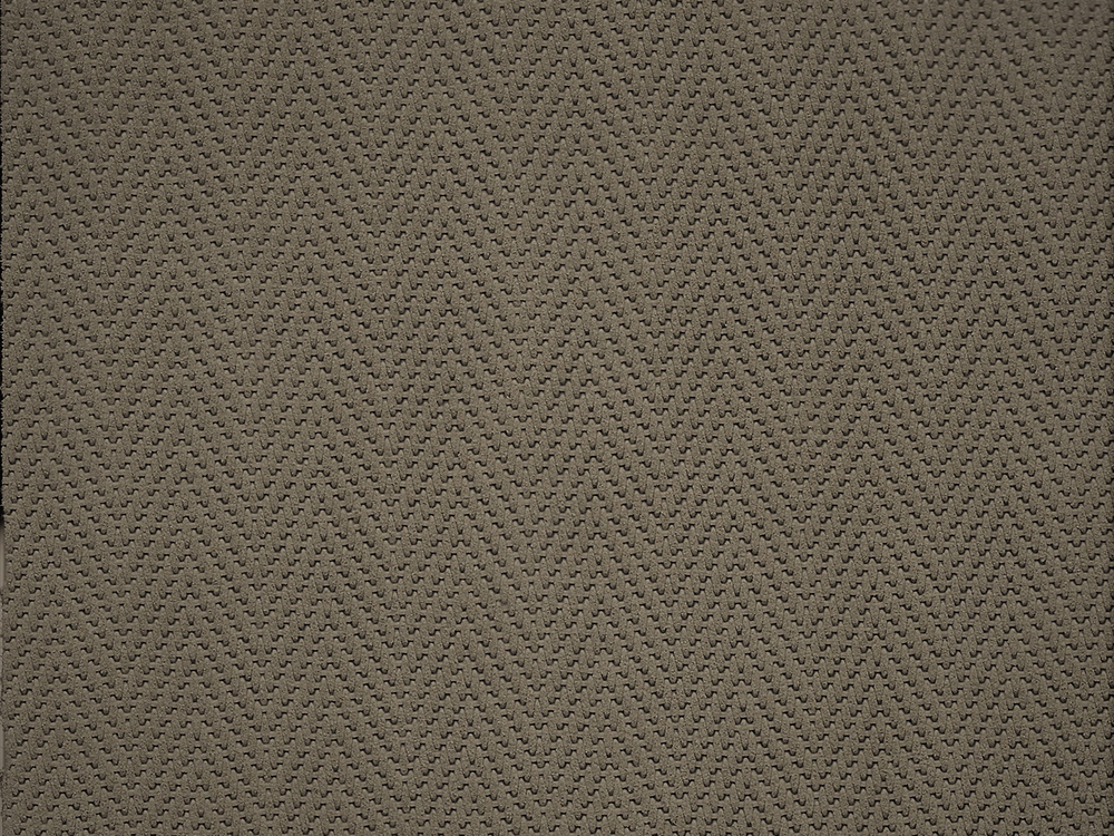 Standard Leather -  SUEDED HERRINGBONE OATMEAL