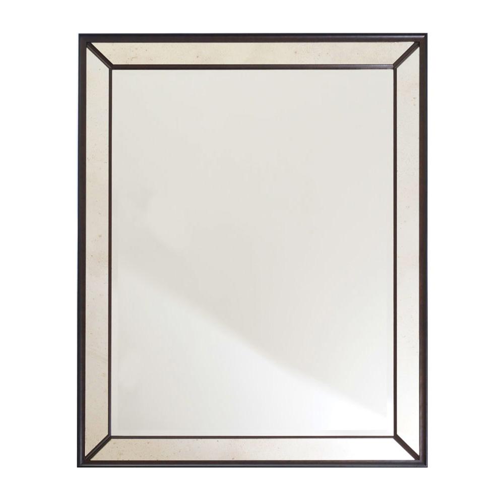 BELVEDERE VENETIAN BIANCO NERO DARK VENEER FRAME DETAIL   Dimension: W 115cm x H 145cm