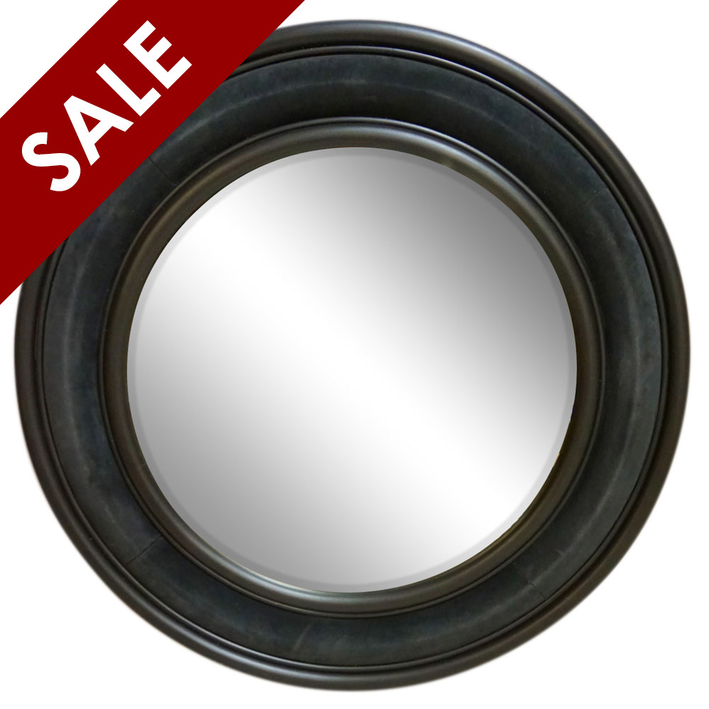 £1,695.00  ex VAT was £3,595.00   SATURN MIRROR IN DARK GREY SUEDE WITH GRAPHITE HAND PAINTED RINGS   Diameter: 120cm