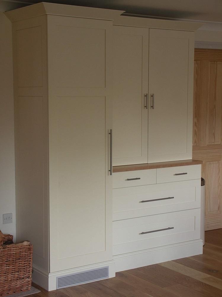 Painted larder cupboard