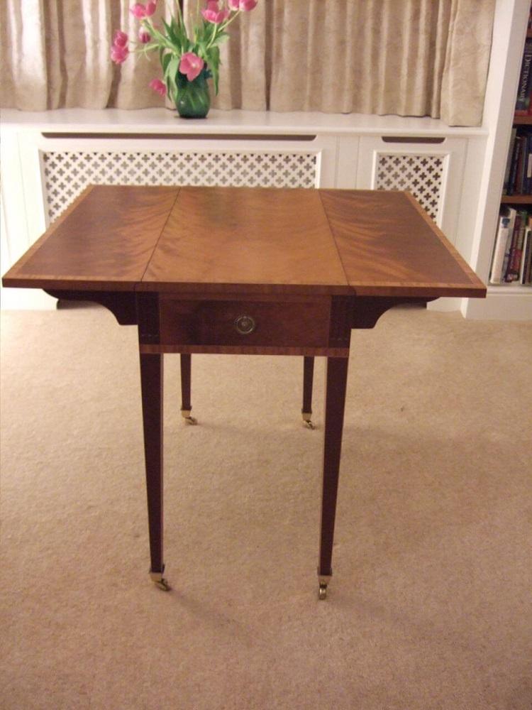 Pemboke Style Table opened