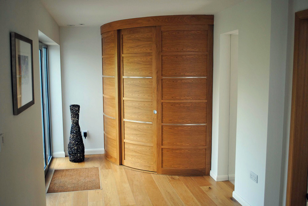Curved Sliding Doors & Bespoke Furniture | Home Office | Radiator Cases \u2014 David Glover ... Pezcame.Com