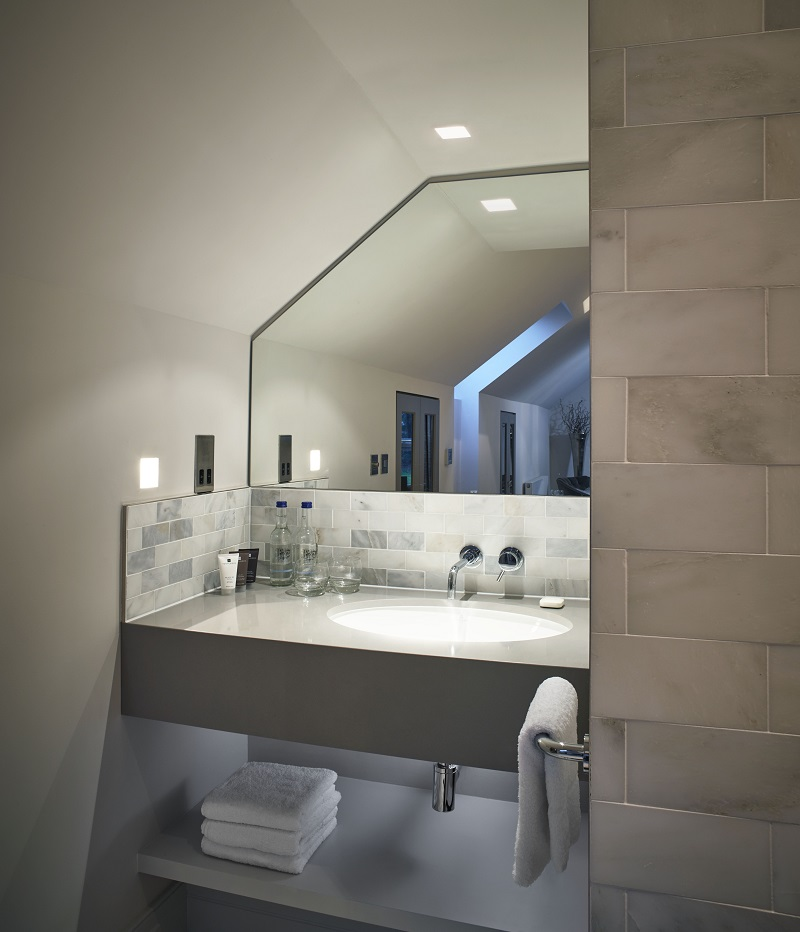 High Bullen Hotel bespoke bathroom sink unit