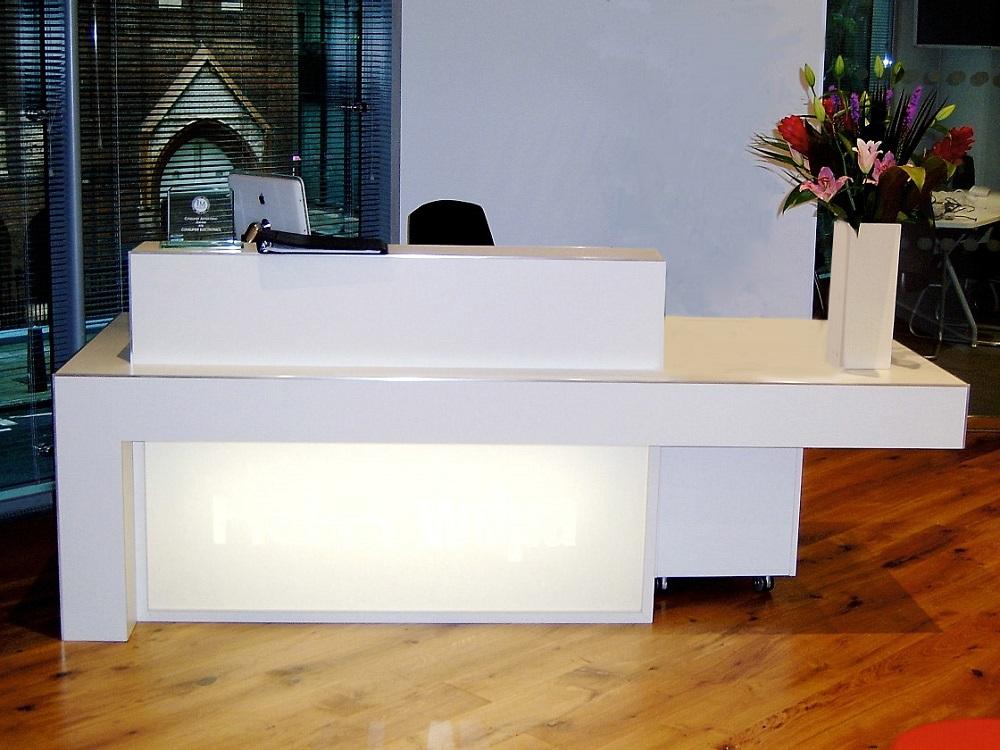 Bespoke Reception Desks Corian Reception Desks David