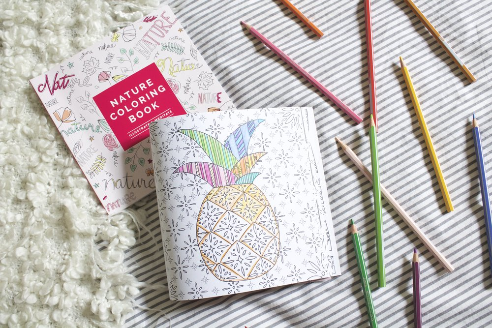 fabfitfun is a seasonal subscription box for women who love to get fit look fab and have fun the coloring books were included in their fall seasonal box - Coloring Book Fun