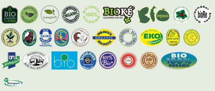 Zie hierboven alleen al een lijstje nepkeurmerken die de suggestie wekken dat het biologische producten zijn.