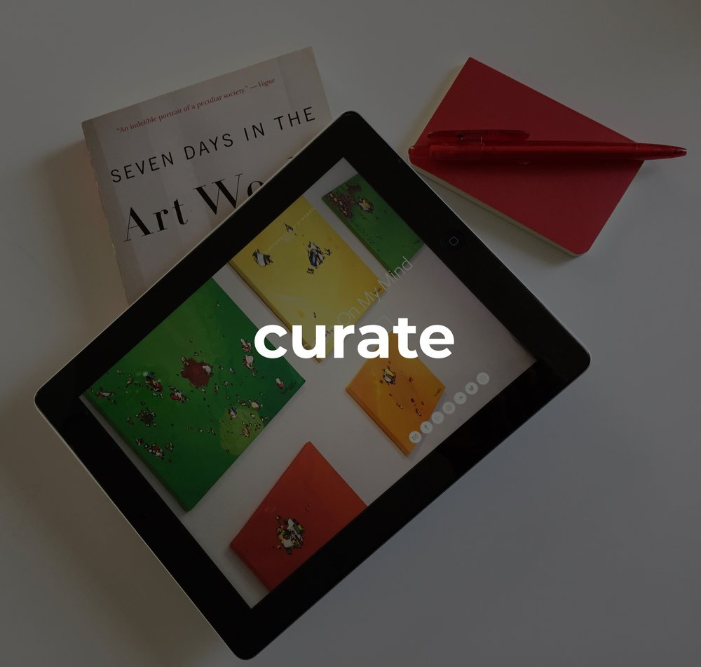 #curating   thoughtfully curated art, brands and content