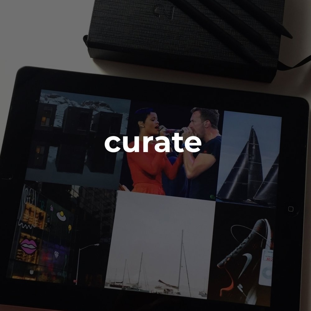 #curate   when we establish your brand id i begin to curate!