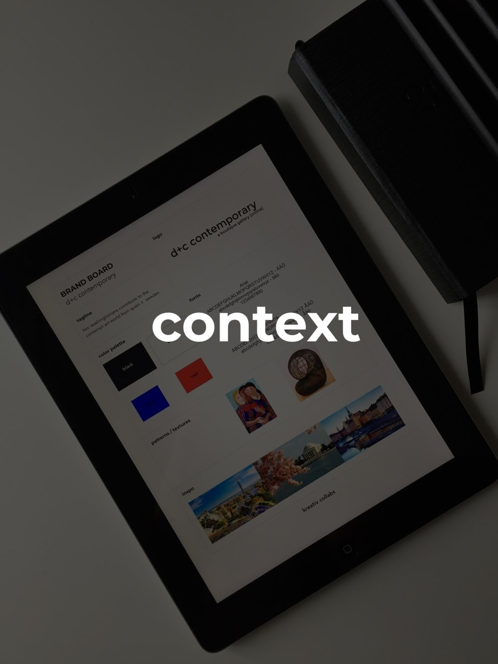 #context   this package takes concept to the next level and begins to really understand the brand id - it provides more creative direction and basic marketing suggestions.